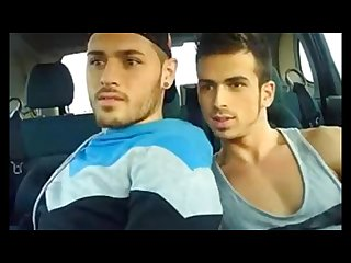 Outdoor Bareback Fuck 2 Cute Spanish Boys on Cam 6