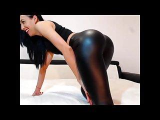 Sheer leggings (wet look)