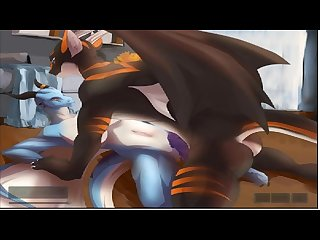 Ferro and lydia flash animation by h0rs3 dragon furry porn