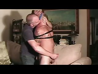 Jake tied and jacked off