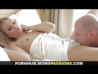 Moms passions making love to romantic mom