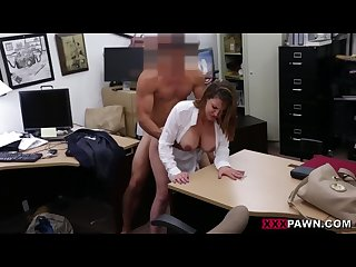 Foxy business lady gets fucked