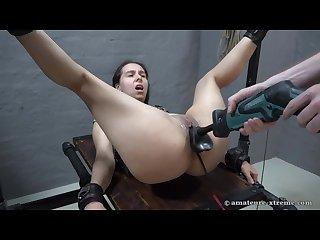 Slave aijana machine fuck
