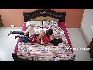 Bedroom romantic indian couple
