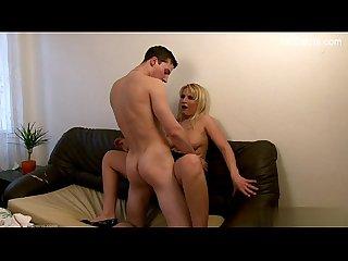 Sexy gf titty fuck