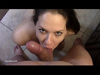 Sweetest pov cock sucking azzurra worshipping a cock