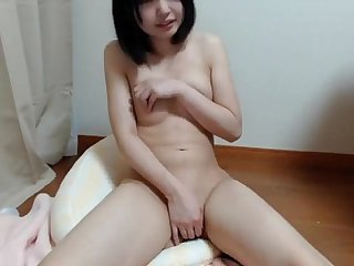 Very Cute Japanese Girl Masturbating Amateur Webcam - WebCummers.com