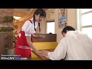 Japanese 18yo maid satisfies client - More at Elitejavhd.com
