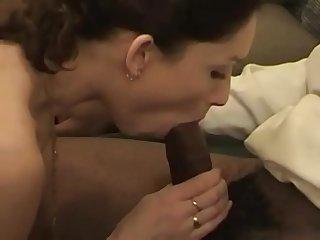 Interracialplace org rough threesome for brunette mom