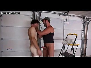 Gays coworkers suck and jerking their dicks