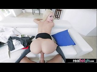 Hardcore Sex on camera with horny Sexy Cute gf elsa jean Mov 13