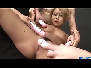 Yuno Shirasu receives cock in each of her shaved holes - More at Javhd.net