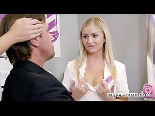 Private period com hot friends share a facial