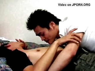 Licking japanese body