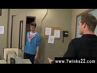 Hot twink Adrian Layton plays innocent when he's caught trying to