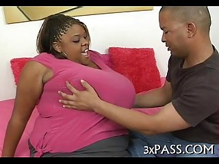 Large beautiful woman wife