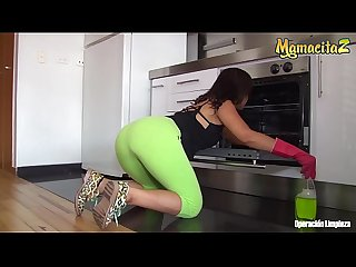 MAMACITAZ - Dirty Latina Maid Daniela Robles Wants To Fuck Her Client