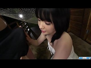 Airi minami takes good care of a large cock in sloppy ways