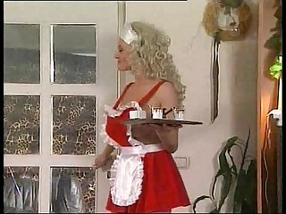 Severina big tits maid