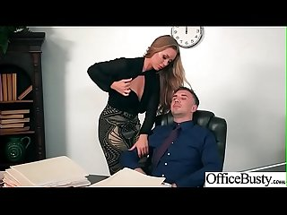 (Nicole Aniston) Office Girl With Round Big Boobs Enjoy Hard Sex movie-22
