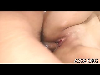 Wild anal invasion for cute asian schoolgirl