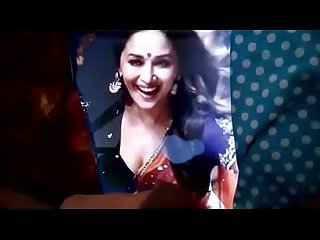 Cumming on Madhuri Dixit !!