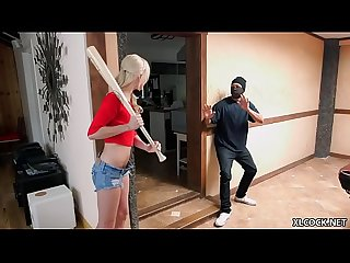 Elsa Jean tries her first BBC