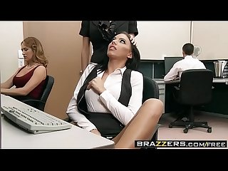 Brazzers big tits at work riley evans keiran lee fuck me til im fired
