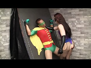 Weird cosplay fucking video where Robin gets tied up and fucked by some character I've never..