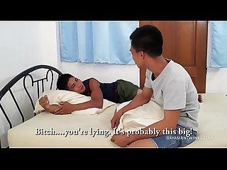 Asian boys jesse and argie barebacking