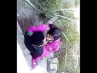 Indian horney couple kissing and sucking publicly