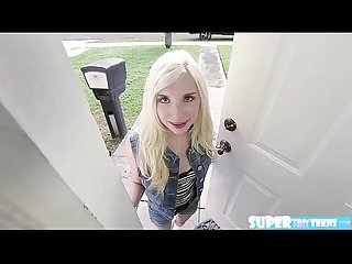 Blondie fun size piper perri gets hammered by friends brother