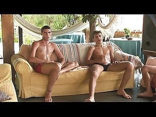 Willing frenchboy gangband raw by 4 hot latinos