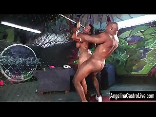 Angelina castro bbc cage showdown excl