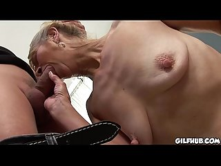 White Granny Fits A Huge Black Cock In Her Asshole-pic9594