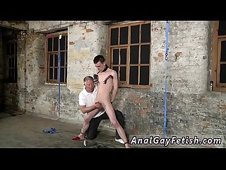 Gay boys masturbating gay video Sean McKenzie is roped up and at the