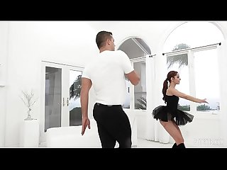 Petite Young Ballerina Vanna Gets A Rough Fuck By The Huge Dick Of Her Teacher