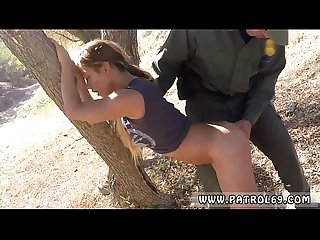 Xxx pawn latina police border jumper puts out big time