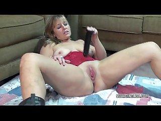 Curvy milf liisa fucks her dildo tube062113