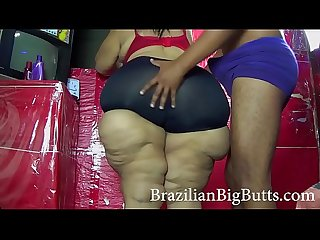 BrazilianBigButts.com Slapping mom bbw big ass