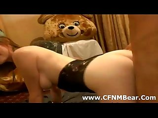 Horny amateur cfnm babe fucks stripper