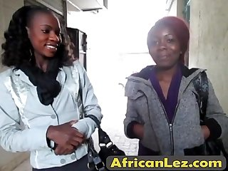 Ebony lesbian action