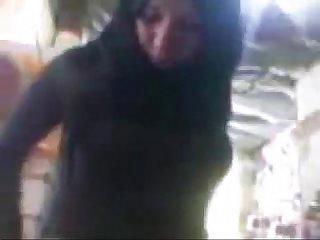 Public sex in mobil shop by hidden cam