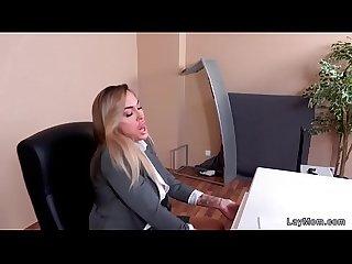 News milf fucking at her job