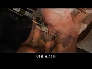 Grandpa fucking horny young sweety
