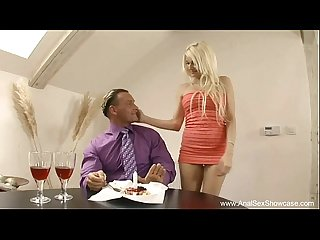 Anal sex surprise for lucky boyfriend