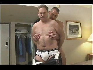 Sexo entre machos maduro