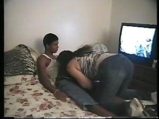 19 yo hot college girl fucks black dude hard on cam interracial tape vickys