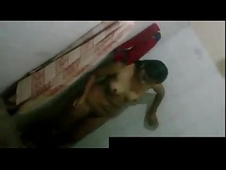 Desi girl caught bathing