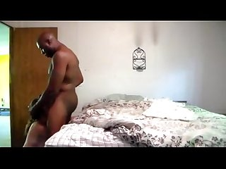 Interracial cheating mom hidden camrea